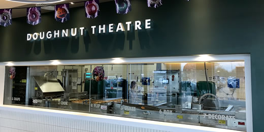 Photo of the Krispy Kreme Doughnut Theatre